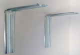 L Shaped Steel Cistern Support Wall Brackets - PAIR - 06001360